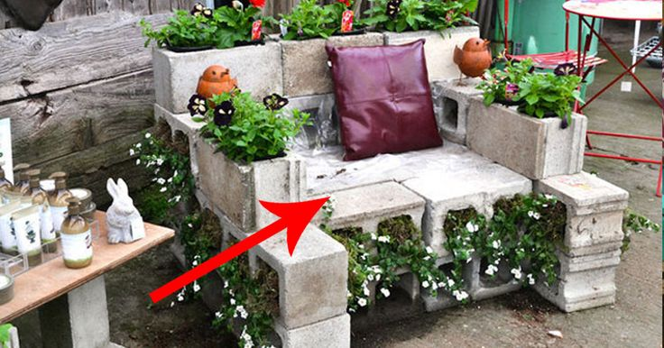 These Simple Ideas Are Actually Pretty Much Genius. Insanely Cool Backyard Furniture DIYs.