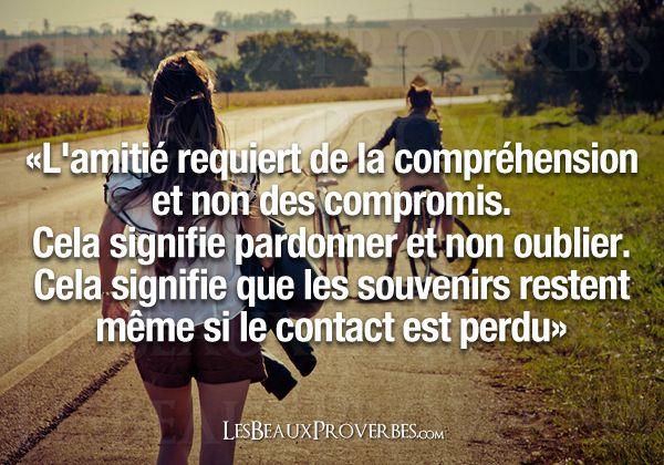 citation sur amitié perdu - Recherche Google | Citations | Pinterest ...