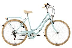 Vélo de ville femme 28'' Casino bleu TC 53 cm 6V KS Cycling