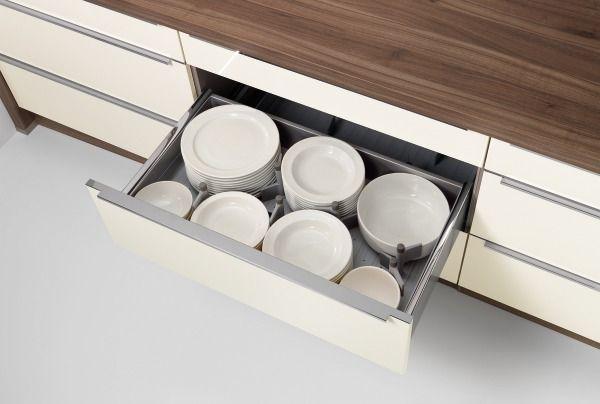 Nolte Innenauszug - einteilbar - Nolte Zubehör - Küchen Geisler - nolte küchen schubladeneinsatz