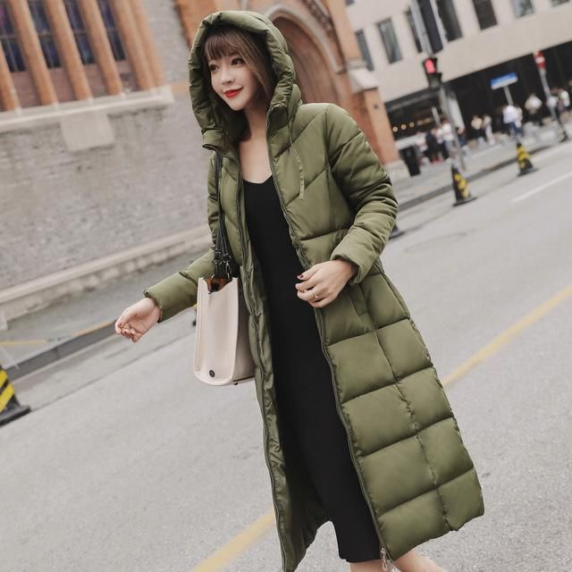 Winter Women Parkas Plus size Outerwear Cotton Coat Female 2018 wadded jaqueta feminina New Long Winter Jacket Women 6 82801 4 X 2