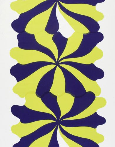 Meduusa interior fabric by Marimekko. Maija Isola, Kristiina Isola, 1966 .