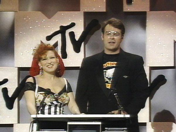 Bette Midler and Dan Aykroyd in 1984