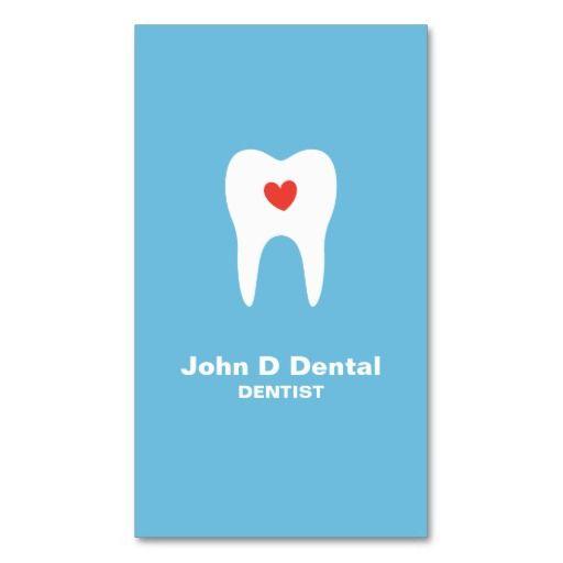 289 best dentist business cards images on pinterest business cards tooth and heart blue dental dentist business card reheart Choice Image