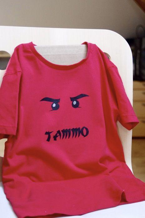 Ninjago shirt tutorial