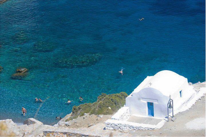 Agia Anna Church          Amorgos Greece