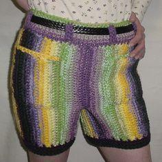 free crochet mens shorts pattern - Google Search