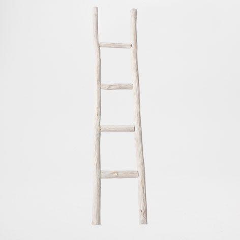 Wooden Ladder Towel Rack - Occasional Furniture | Zara Home Romania