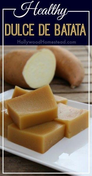 Dulce de Batata recipe - African Sweet Potato Dessert #food #glutenfree #paleo