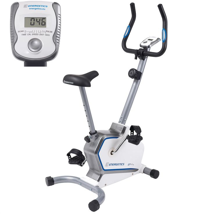 Vélo d'appartement CT 111P Energetics prix promo Intersport 99.99 € TTC