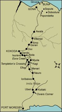 Kokoda Track, where the Australian soldiers traveled and fought. I want to walk this so bad!