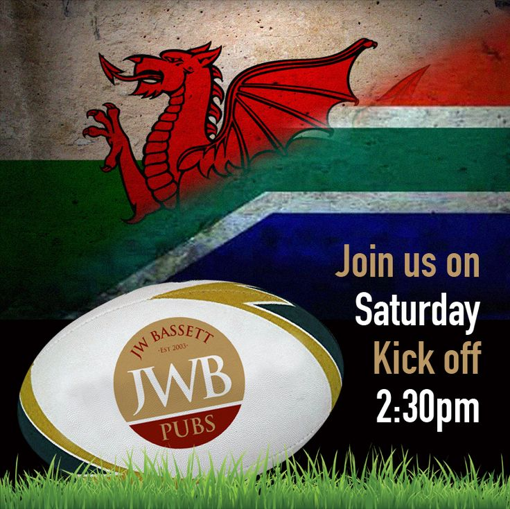 Come and join us at The Queens Vaults for Wales' final Autumn international rugby match against South Africa. #walesvsouthafrica