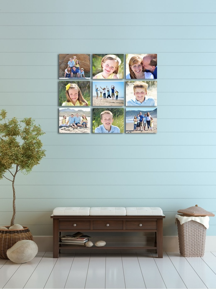 Family photo display 30 best Canvas Display