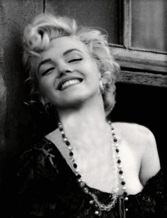"""Marilyn Monroe in 1956 - taken around the time she was making """"Bus Stop"""""""