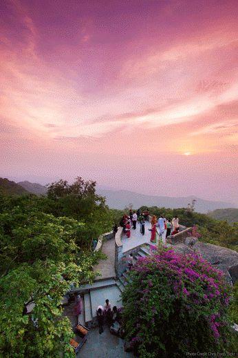 Sunset Point Mount Abu, Rajasthan