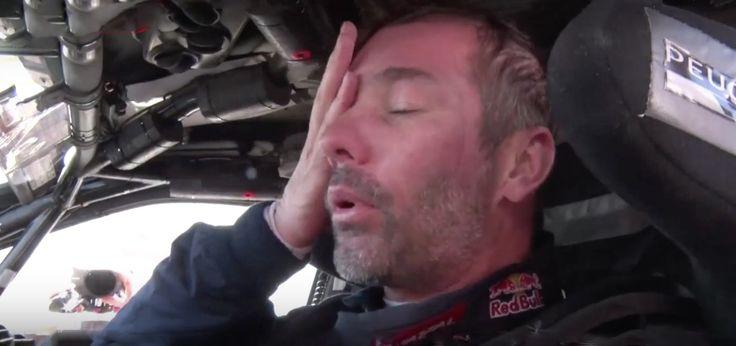 Maroc 2015 Etape 2, Loeb apprend vite