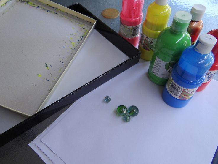 How to marble paint - easy fun for kids