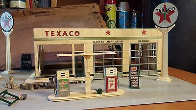Texaco Buddy L Service Station Vintage Gas Metal 1960 S