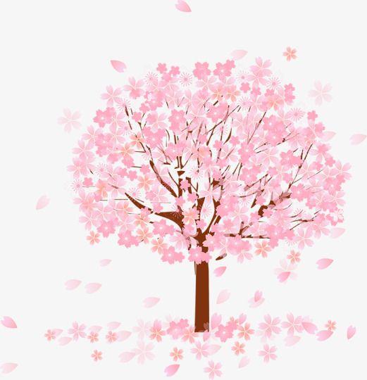 Pink Ribbon Iphone Wallpaper Pink Tree Tree Clipart Pink Flowers Defoliation Png