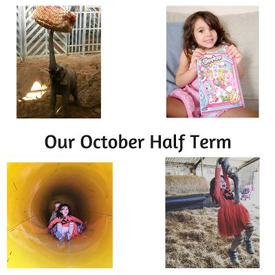 Our October half-term 2016 featuring the new Shopkins film and a day out at Noah's Ark Zoo Farm