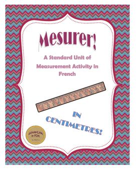 Time to get measuring! FYI this is activity is for measuring centimetres!This is a great way to introduce your students to standard units of measurement. This is a simple, teacher-led activity that can be done in small groups.Included are measurement cards and a recording sheet.
