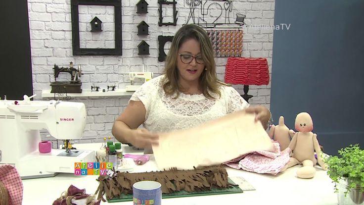 Ateliê na TV - Rede Vida - 27.01.2017 - Amanda Damaceno e Claudia Figuei...