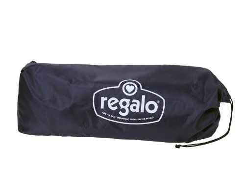 The Regalo My Cot Blue Portable Travel Bed With Bag Is A Child Sized Sleeping That Perfect For Sleepovers Camping Grandma S House