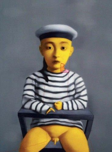 Little Navy - Zhang Xiaogang prints