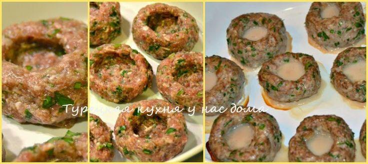 """Котлеты """"Хасан-Паша"""" от шеф-повара. Сочные маленькие корзинки из мясного фарша, наполненные картофельным пюре"""
