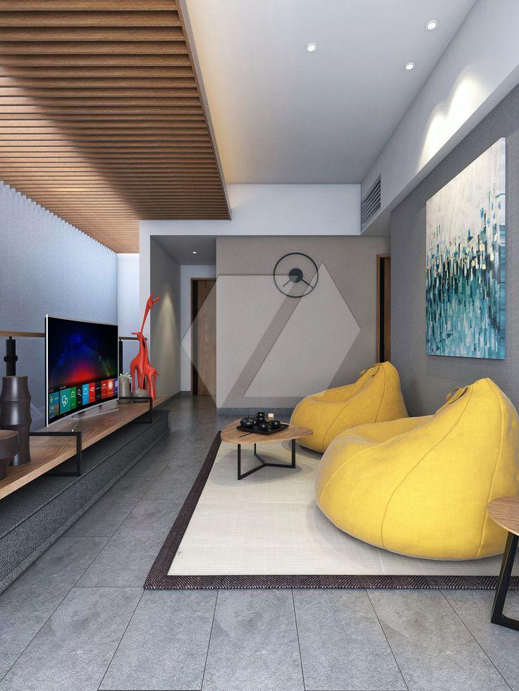 Ide untuk ruang tamu lesehan | Portofolio By : Dimas Daforza (Interior Designer di Sejasa.com)