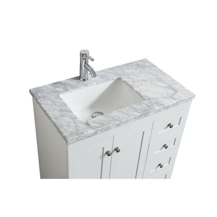 Darby Home Co Kyndra Transitional 31 Single Bathroom Vanity Set Reviews Wayfair Single Bathroom Vanity Vanity Bathroom Vanity