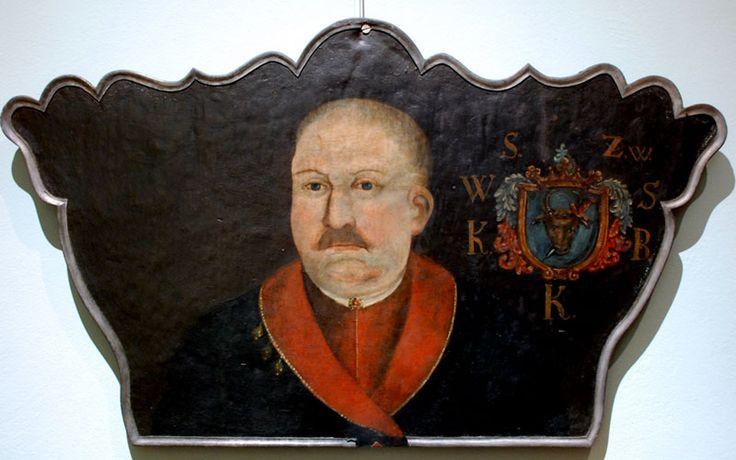Portret trumienny Sokołowskiego, 2 poł. XVIII w., Sarmatyzm | Muzeum Diecezjalne we Włocławku