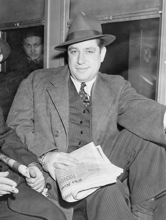 Obit - Emanuel Mendy Weiss - member of the 1930s murder-for-hire gang made up of low-level Jewish and Italian gangsters working out of Brooklyn New York City