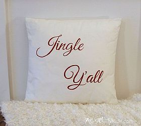 Jingle Y'all -Thrifty Pillow Makeover W/Chalk Paint®