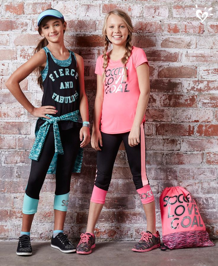 Fierce and fabulous activewear available in your favorite sayings and sports.