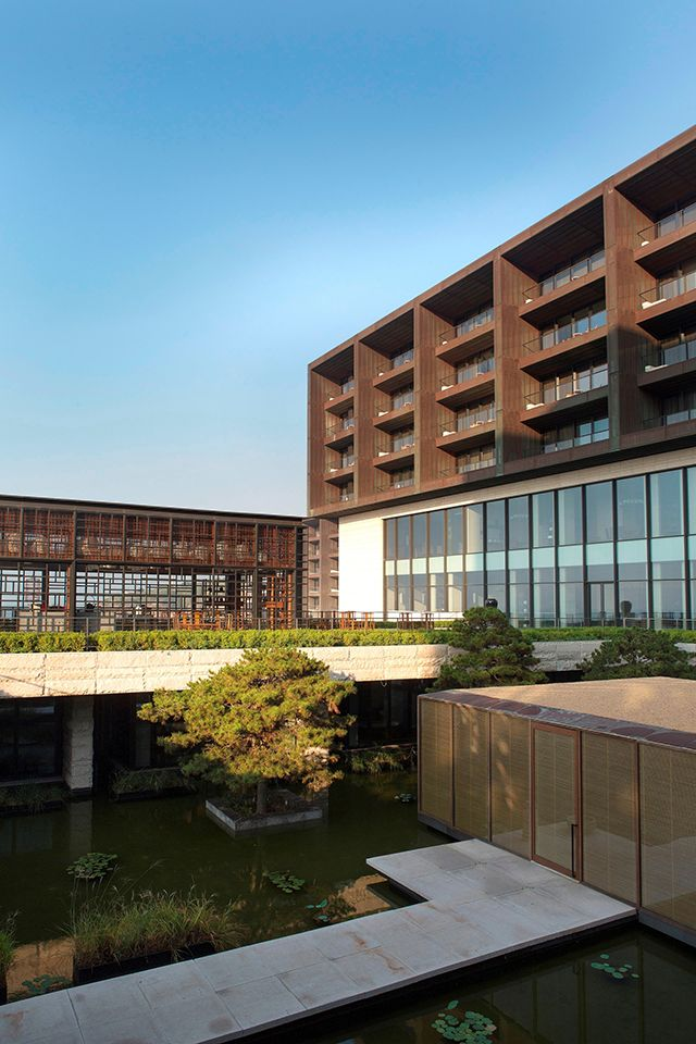 The Lalu Hotel, Qingdao, China, by Kerry Hill Architects