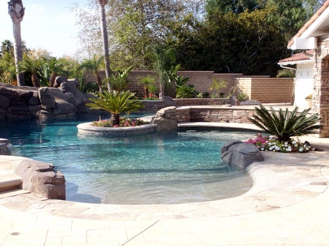 95 Best Beach Entry Pools Images On Pinterest