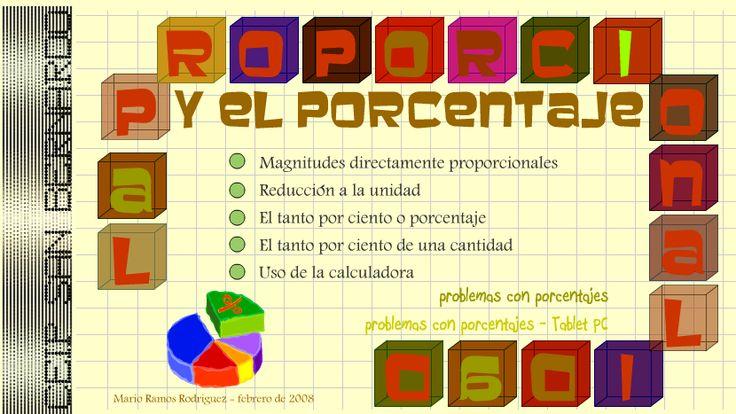25 best Mate Proporcionalidad images on Pinterest | Porcentajes ...