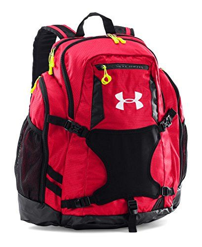 Under Armour UA Striker II Soccer Backpack One Size Fits All Red