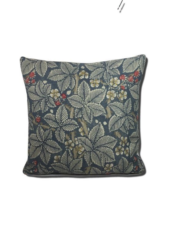 William Morris Bramble Mineral/Slate  224466 Cushion Covers Many Sizes Available