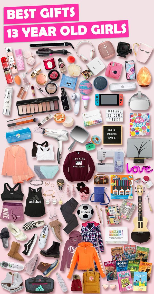 Gifts For 13 Year Old Girls In 2020 Christmas Ideas Birthday Presents For Teens Birthday Gifts For Girls Cool Gifts For Teens