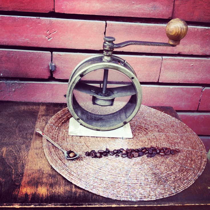 Grunge #macinacaffe #coffee grinder #trespade #caffe
