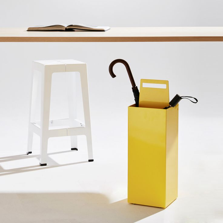 DesignByThem approached Sydney-based designer Seaton Mckeon to design a modern umbrella stand that can be used both indoors or outdoors.