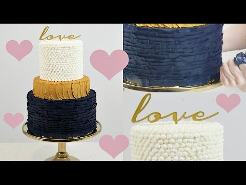 Buttercream Cake Decorating Tip. Easy and Fast Technique by CakesStepbyStep. - YouTube Album ...