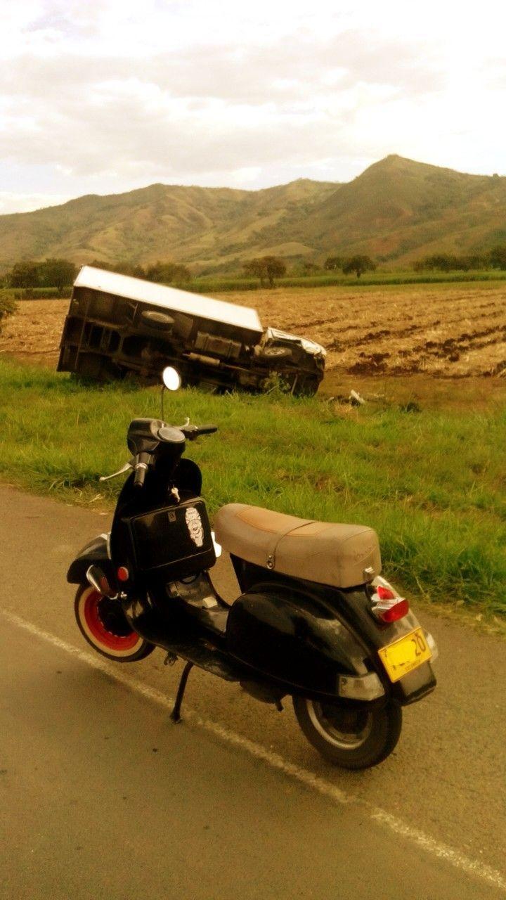 Truck vs Vespa