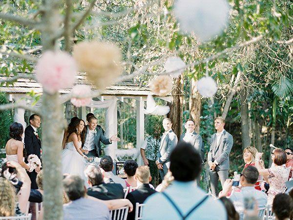 Garden Wedding at Coolibah Downs Private Estate Real Wedding: Brooke & Martin » Queensland Brides