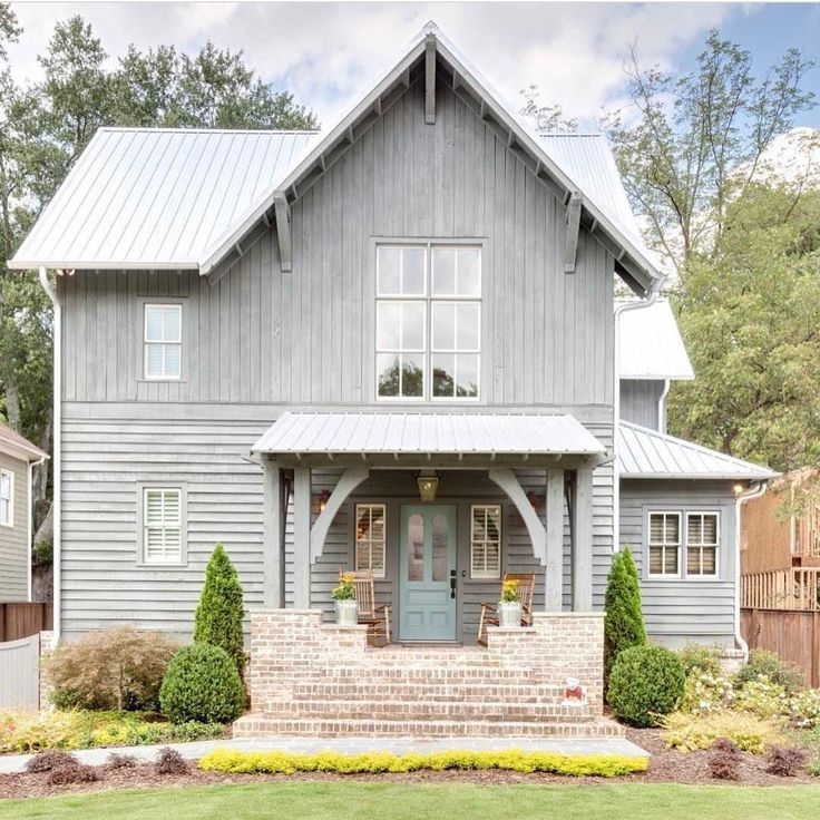 Best 20 small farmhouse plans ideas on pinterest small - Rustic home exterior color schemes ...
