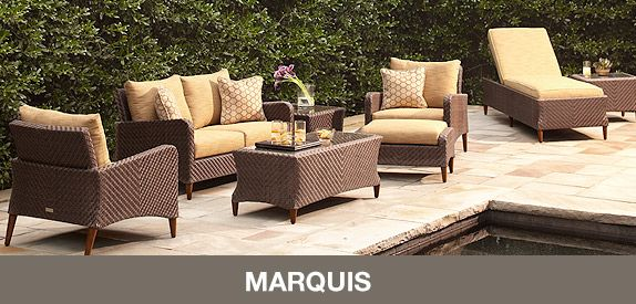 Brown Jordan Patio Furniture (recommended by YHL, available at Home Depot--check for sales)