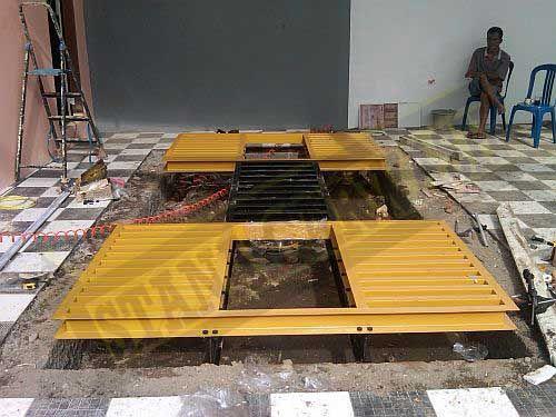 proses instalasi hidrolik cuci mobil thunder H-06