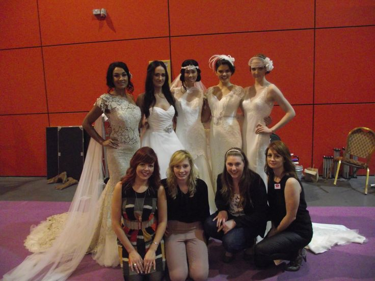 Models and UWL staff!